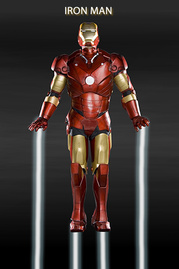 Iron Man Available Now